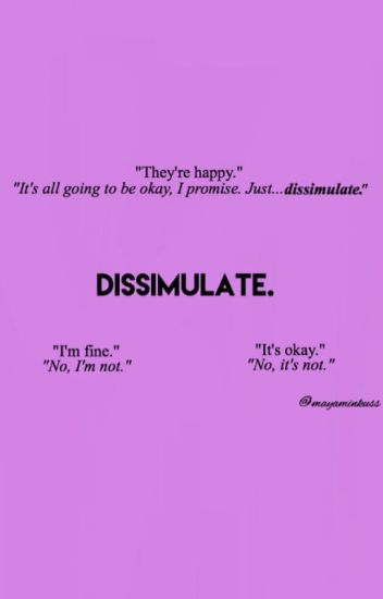 Dissimulate. ~ A Rucas and Markle fanfic.