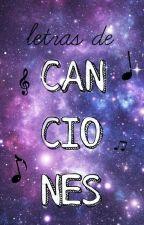 Letras De Canciones by Zarxyc
