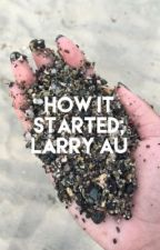 HOW IT STARTED; larry au [bottom!louis top!harry] by larryent