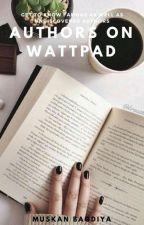 Authors on Wattpad by muskanb27