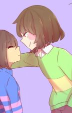 Chara x Frisk Fanfiction by goldy1o