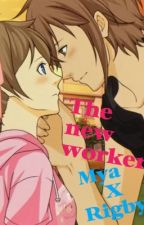 The new worker (Rigby x reader)   by GingerBunny_love
