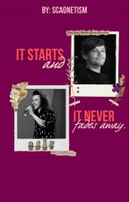 It starts and it never fades away. [Larry Stylinson] [AU] [Español/OS] by fakefics_everywhere