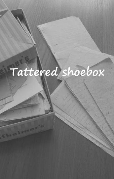 tattered shoebox