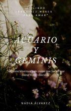 Acuario y Geminis by -Alvarez-