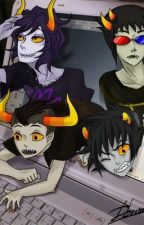 (Under Going Rewrite!)Homestuck: not from this world by konan720