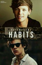 Habits- AU Punk!Harry  by LarryRainbow18