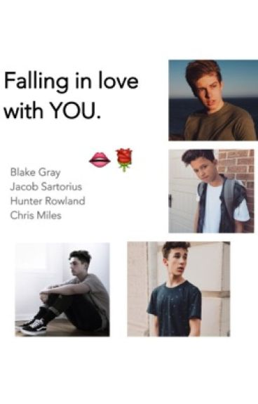 Falling in love with YOU. -B.G, J.S, H.R, C.M.