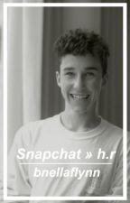 Snapchat » h.r by BnellaFlynn