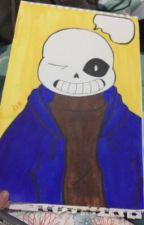 (Libro de dibujos ) undertale  by killersmile912
