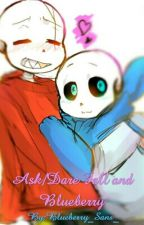 Ask/Dare Blueberry and Fell by Blueberry_Sans_
