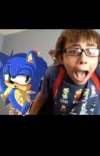 Sammyclassicsonicfan x Sonic by TheRealWeeabooJones