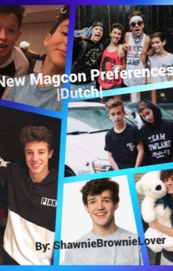 New Magcon preferences -Dutch-