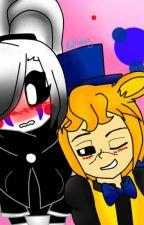 puppet girl x golden freddy amor inolvidable by az5_puppet_kawaii