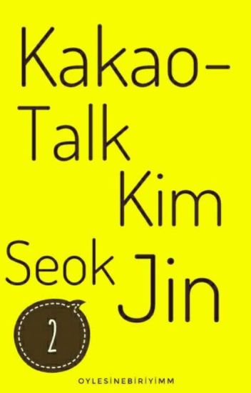 Kakaotalk- |Kim Seok Jin|