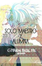 Solo Maestro Y Alumna by QueenJackunzel