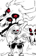 la última petición (Sans x Frisk) [Horrortale] by MyNevereverland7