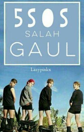 5SOS SALAH GAUL by lazypinkx