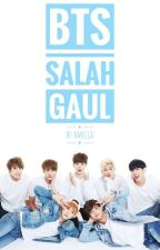 BTS SALAH GAUL by Amllya_