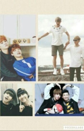 Los hermanos Jung~ (YoonMin, Vhope, Namjin, Taoris)