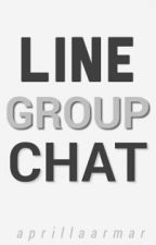 Line Group Chat by aprillaarmar