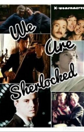 We Are Sherlocked by x-womenmarvel