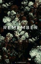 Remember | Derek Luh(em Revisão) by _itsmaloley