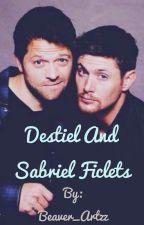 Destiel and Sabriel Ficlets by Beaver_Artzz