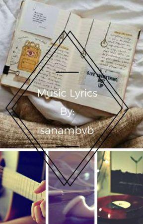 Music Lyrics by sanambvb