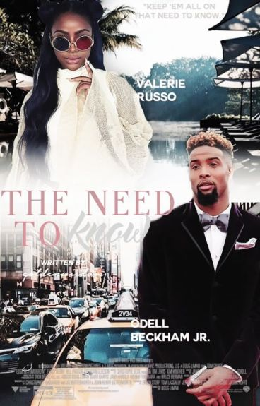 THE NEED TO KNOW •• OBJ