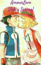 Ash Y Serena AmourLove  by Weastian
