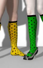 Polka Dotted Socks by MiduHadi