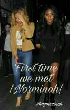 First time we met |Norminah| by dvddydinah
