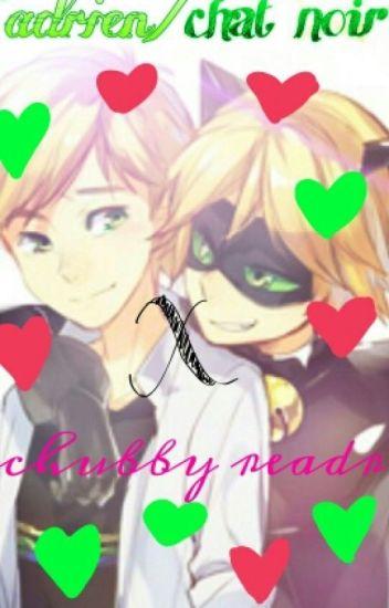 Adrien/Chat Noir X Chubby Reader