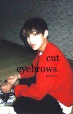 Cut Eyebrows » Taehyung by hello_jinae