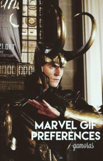 Marvel Gif Preferences