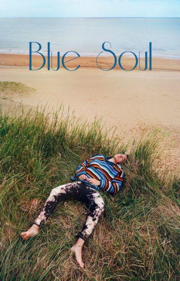 blue soul ♆ lwt + hes;; painter!louis & merman!harry