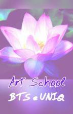 Art School ||BTS e UNIQ by Alien_Hobi5D