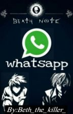 Death Note Whatsapp(͡° ͜ʖ ͡°) by SoloSoy_L