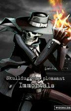 Skulduggery Pleasant. Immortals              Fanfic by 10Ticci_toby01