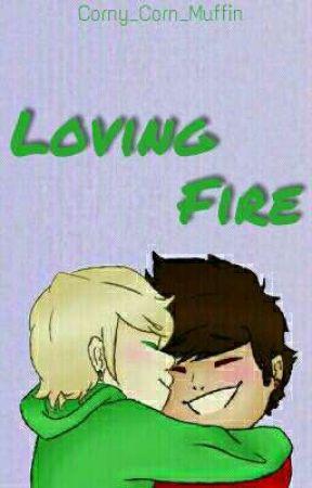 Ninjago Greenflame ~ LOVING FIRE by Corny_Corn_Muffin