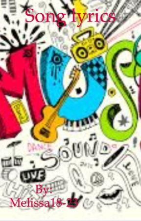 Song Lyrics by Melissa18-23