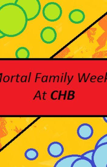 Percy Jackson-Mortal Family Week - lilypad_make - Wattpad