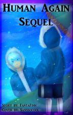 Human Again Sequel! SansxReader by fantafrisk