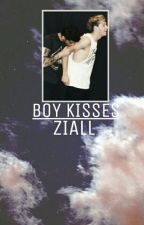 Boy Kisses | Z.H by x1beth1x
