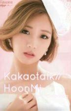 Kakaotalk//HoonMi  by redheadsatan