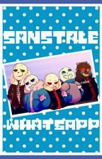 SansTale WhatsApp by -Crxam