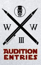 Incognito Word War III Audition: Entries by WattIncognito
