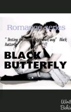 Black butterfly by intancintyaa