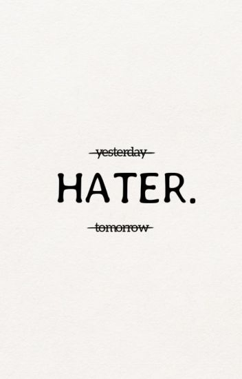 → Hater ; Lee taeyong